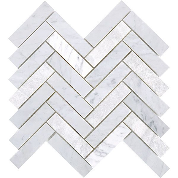 Carrara Large Herringbone