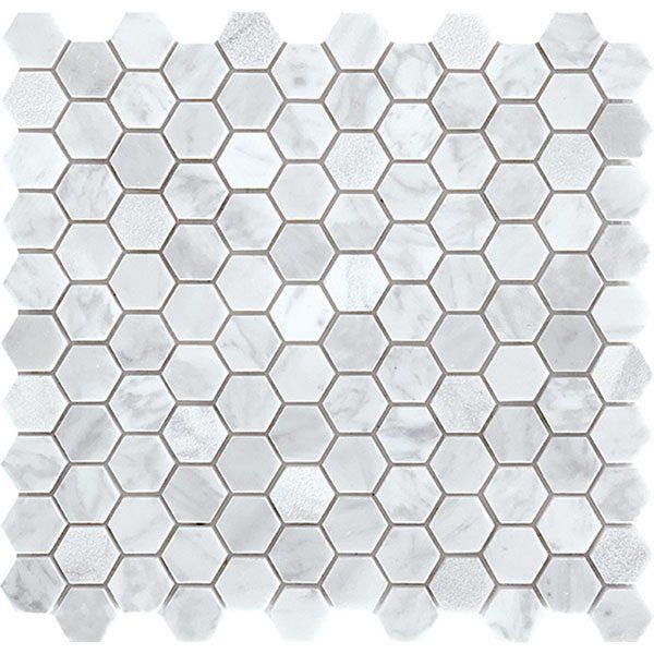 Carrara Small Hexagon