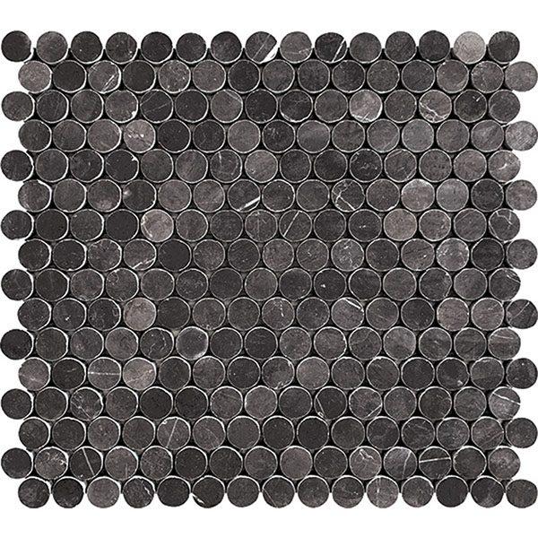 Pietra Dark Penny Round