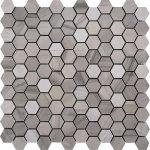 Athens Grey Small Hexagon
