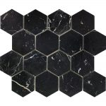 Nero Marquina Large Hexagon