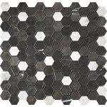 Pietra Dark Small Hexagon