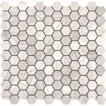 Wood Grey Light Small Hexagon